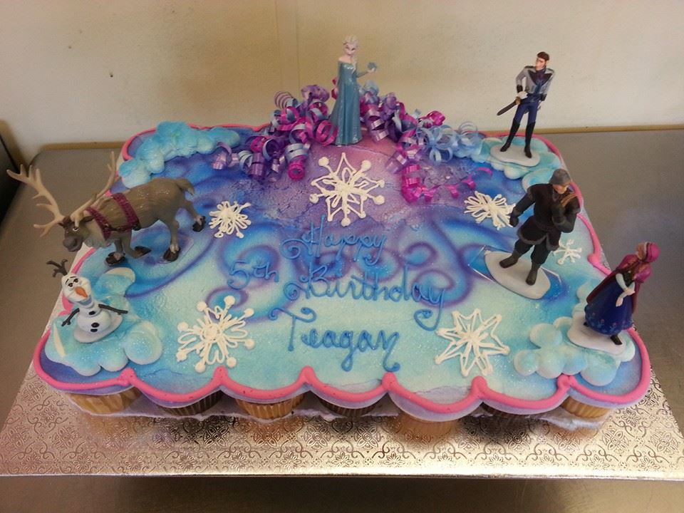Walmart Bakery Frozen Cupcake Cake
