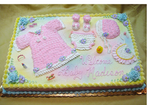 Baby Shower Sheet Cakes