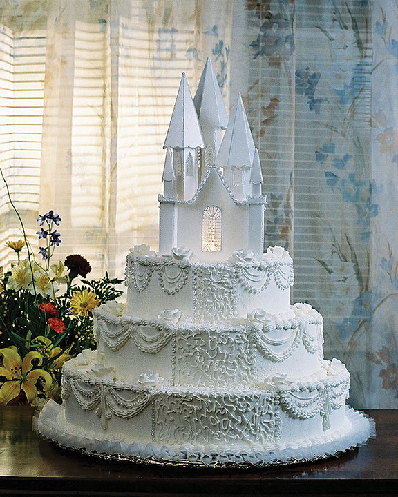 Special Castle Wedding Cakes