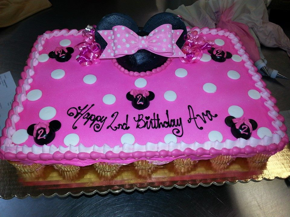 Minnie Mouse Sheet Cake Images : Herman s Bakery and Deli - Girl BirthdayGallery