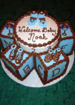 Herman S Bakery And Deli Baby Shower Decorated Cake Galley